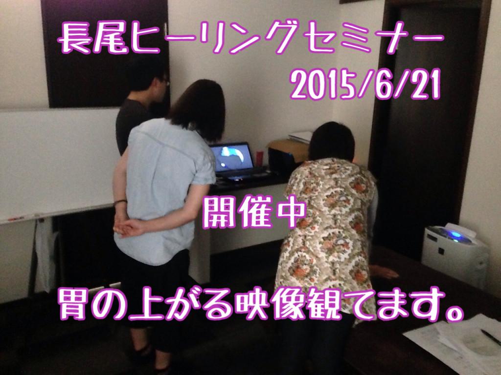 長尾ヒーリング(言霊療法)セミナー 20150621 名古屋開催