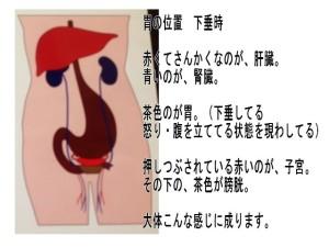 胃の位置異常
